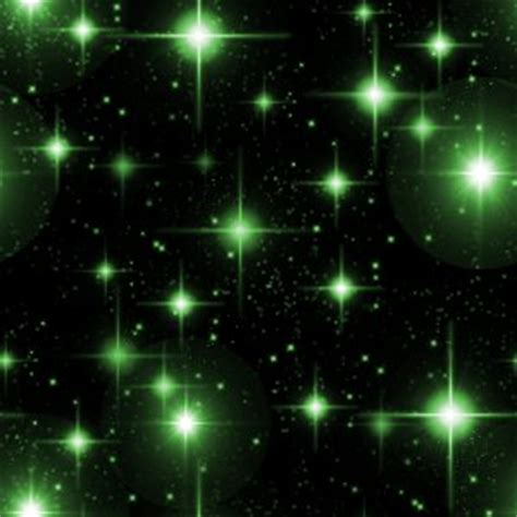 green starry night wallpaper seamless background pattern