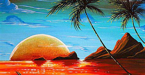 imagenes para dibujar en lienzo faciles pintura moderna y fotograf 237 a art 237 stica paisajes