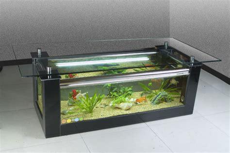 lada bottiglia vetro carro armato di pesci tavolino da salotto acquario di