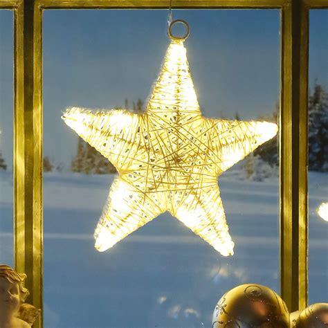 Led Fensterdeko Weihnachten by Led Fensterdeko Sternengl 252 Ck G 228 Rtner P 246 Tschke