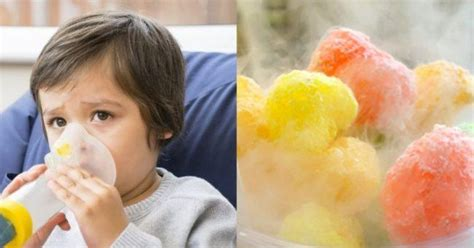 nitrogen cair  makanan membuat anak  masuk rumah