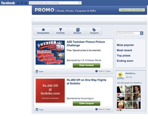 Sweepstakes Facebook App - how to make your facebook contests stand out social media examiner