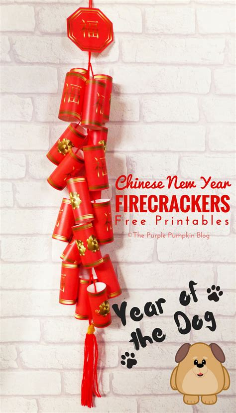 make new year firecrackers free printable new year firecrackers the year of