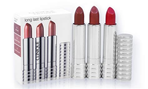 last lipstick clinique clinique last lipstick trio groupon