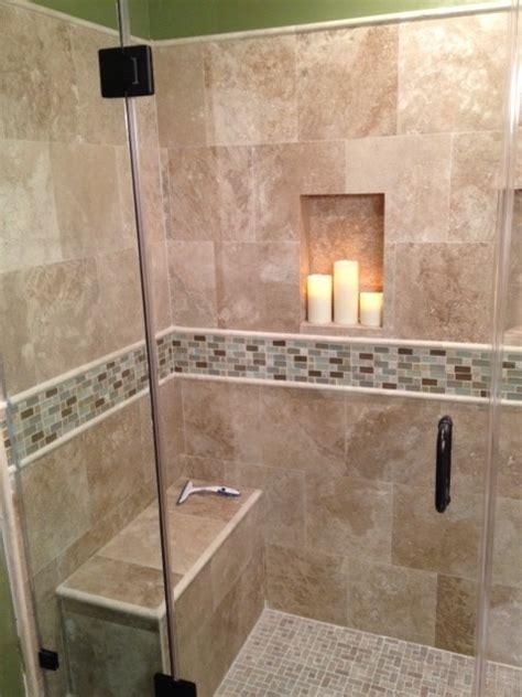 tub shower travertine shower ideas pictures travertine shower traditional bathroom los angeles