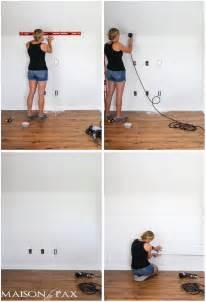 How To Make A Shiplap Wall How To Plank A Wall Diy Shiplap Maison De Pax