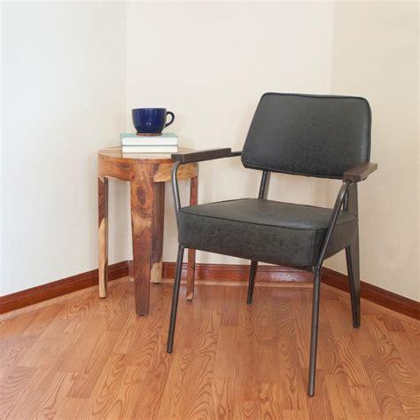 accent arm chair set amerihome black faux leather fauteuil direction accent arm