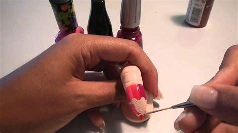 Pencil Nail Design