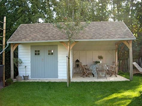 Sheds And Patios this shed and patio combo small space secret