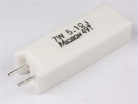 micron power resistors mns07n5r1jc micron power cement resistor