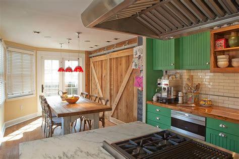 Barn Doors In Kitchen 25 Trendy Kitchens That Unleash The Of Sliding Barn Doors