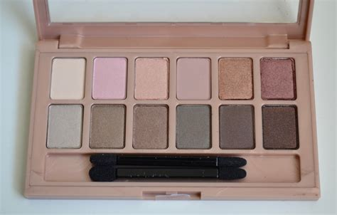 Maybelline The Blushed Palette aquaheart maybelline the blushed eyeshadow palette
