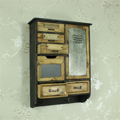 wooden multi drawers wall cabinet melody maison 174