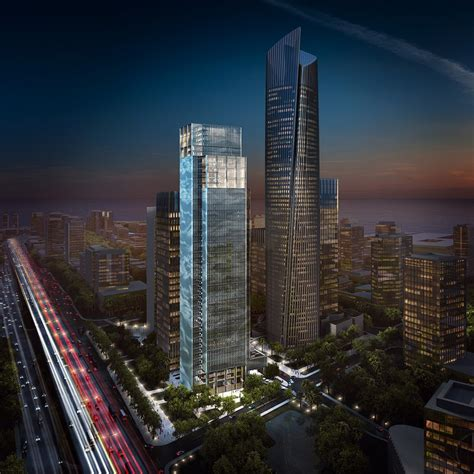 sf express headquarter building in shenzhen e architect