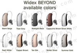 hearing colors widex beyond 440