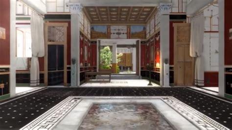 niezwykly dom  starozytnych pompejach video portal