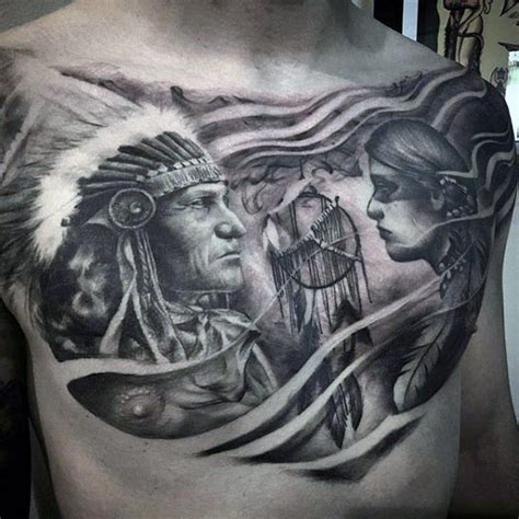 native american tattoos for men 100 dreamcatcher tattoos for design ideas