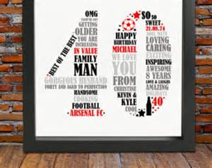 personalized 40th birthday gift for him 40th birthday 40th birthday gift 40th birthday gift