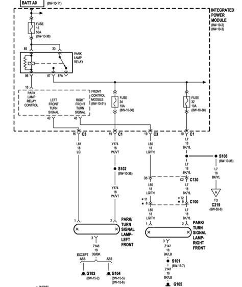 parking light wire colors dodge ram parking light wiring diagram wiring diagram