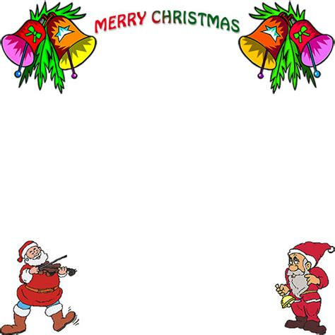 Christmas bell border free printable with bells picture pictures to