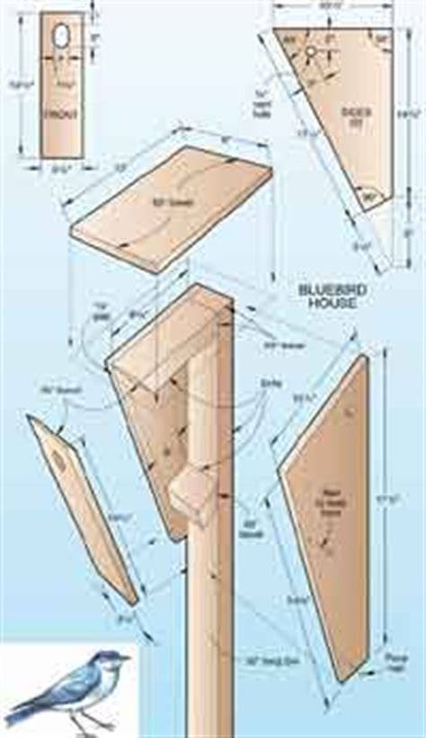 bluebird house pattern over 50 free bird house and bird feeder woodcraft plans at