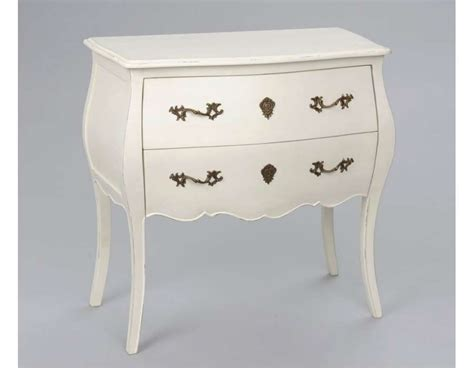 Commode Blanche Baroque by Commode Blanche Baroque 2 Tiroirs Ou Commode Romantique