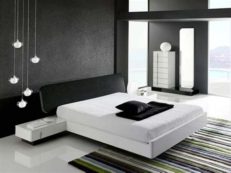 Black And White Bedroom Design Ideas Black White Interior Bedroom Decorating Ideas Beautiful Homes Design