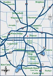 map denver colorado surrounding areas denver homes denver colorado map denver colorado real
