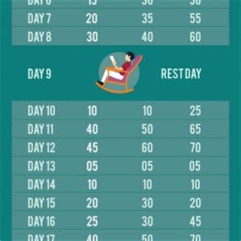 30 day squat and abs challenge 30 day abs and squats challenge visual ly
