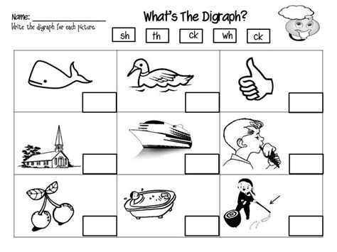 Digraph Worksheet by Digraphs Worksheet Kindergarten Ideas