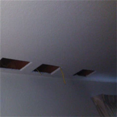 Ceiling Lighting Without Wiring Installing Retrofit Recessed Lighting Without Attic Access
