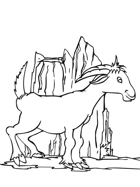 boer goat coloring page boer goat pages coloring pages