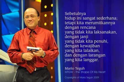 kata kata motivasi mario teguh mudiyanto