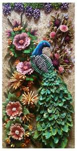 How To Make Paper Quilling Peacock - peacock in paper quilling peacock quilled