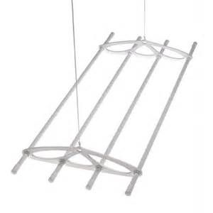 Hanging Clothes Dryer Rack Silverstyle 6ft White Hanging Ceiling Laundry Clothes