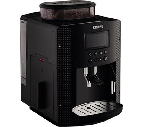 Krups Coffee Machine buy krups espresseria ea8150 bean to cup coffee machine black free delivery currys