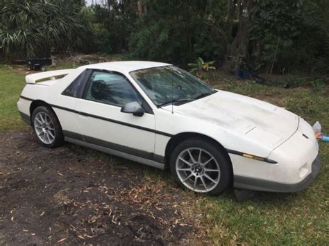 old car owners manuals 1985 pontiac fiero transmission control pontiac fiero 1985 classic no reserve for sale pontiac fiero 1985 for sale in