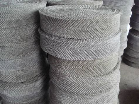 knitted wire mesh stainless steel knitted wire mesh de xiang rui wire mesh