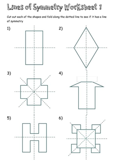 pattern with one line of symmetry lines of symmetry worksheets by t0md3an teaching
