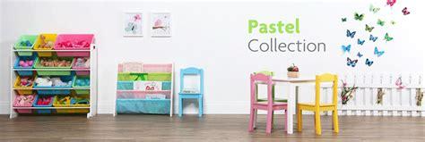 tot tutors book rack storage bookshelf white pastel