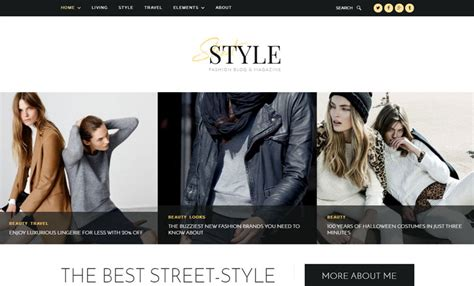 theme blog fashion wordpress 15 best wordpress themes for fashion blog of 2017 modern