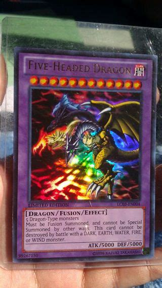 Five Headed Ultra Free Yugioh Card Five Headed Ultra