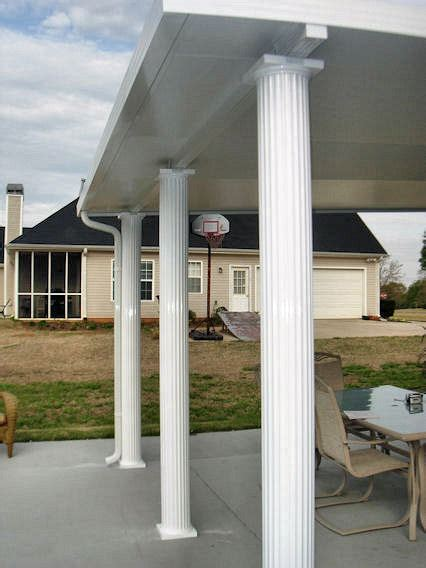 Patio Support Posts by Patio Roof Patio Roof Support Posts