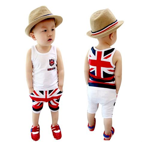 3t boys clothes toddler boys clothing vest tops set clothes