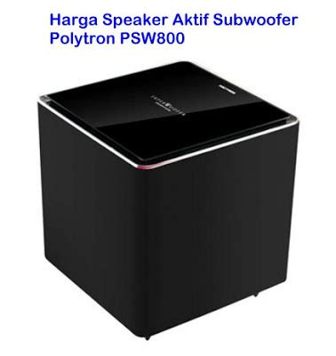 Speaker Subwoofer Polytron Psw 500 harga salon aktif big bass murah mantap