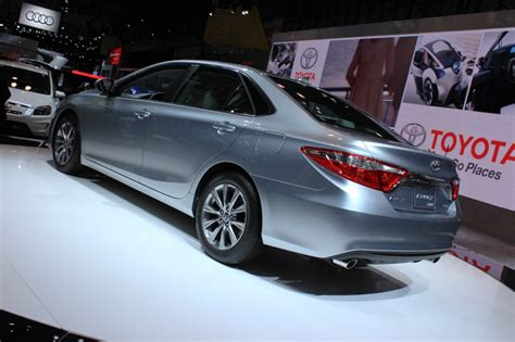 2015 Toyota Camry New York Auto Show Live Photos