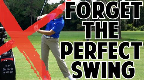 the perfect swing the perfect golf swing can ruin your game top speed golf