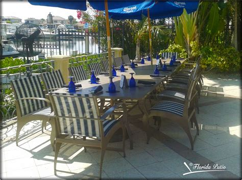 blue mangrove grill s new patio furniture florida patio