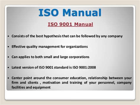 iso 9001 procedures templates iso 9001 template images