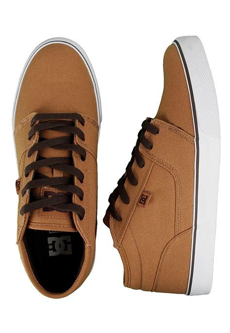 light brown shoe dc tonik mid tx light brown brown shoes impericon com uk